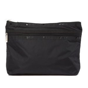 LeSportsac Taylor Large Top Zip Pouch Black